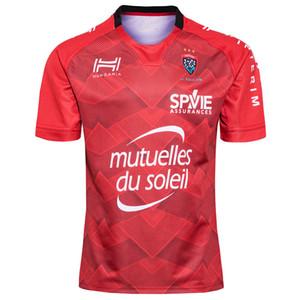 Hungaria RC Toulonnais 2019-2020 Yetişkin Süper Rugby Jersey Gömlek Maillot Camiseta Maglia S-5XL Trikot CAMISAS Kit Tops