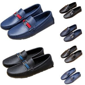 Fashion Youwager Multi Pochette Mens Shoes Loafers Casual Slip-on Male Driving Moccasins Breathable Comfort Outdoor Walking Flats