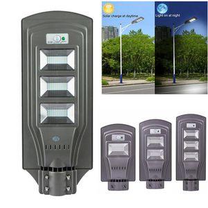 LED Solar Straßenlaterne PIR Bewegungsmelder Außenwandleuchte 20W / 40W / 60W, LED wasserdichter solarbetriebener Wall Street Light Bewegungsmelder