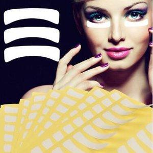 100 Çift / takım Kirpik Uzatma Hidrojel Altında Göz Jeli Maske Yama Sticker Bant Dikim Aşılı Kirpik Maquiagem Izolasyon Pedi