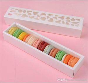 Oco para fora Cups Box caixa de gaveta Hot New Macaron, caixa de bolo, caixa de presente 200PCS / LOT Embalagem