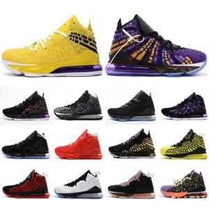 Mens New J17 XVII Scarpe da basket Avvio dell'uguaglianza Big Kids Designer Trainer per Top Quality James 17s Sneakers sportivi 40-46