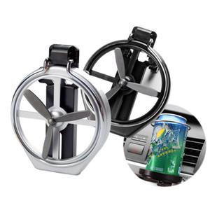 Universal Dobrável Ar Condicionado Ventilação Clipe Inlet Auto Car Drink Titular Carro Garrafa de Bebida Copo de Carro Quadro para o Caminhão Van Bebida HHA275