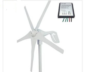 400W wind turbine generator 600w max, CE certification wind power generator and controller, 5 blades small wind mill