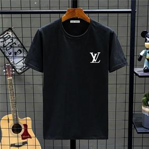 2020 Curva Hem Hip Hop Hombres camiseta de Kpop del Urban extendido camisa llana del palangre para hombre Tee Shirts Ropa de hombres