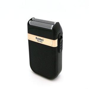 Kemei Elektrikli tıraş USB Şarj edilebilir maquinillas de afeitar Jilet Saç Sakal Traş MachineBarber Giyotin powerstore2012 eQsON