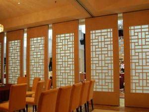 Hotel Operabile muro, mobile divisorio della parete, in alluminio suono porte blindate, all'ingrosso partizione parete mobile