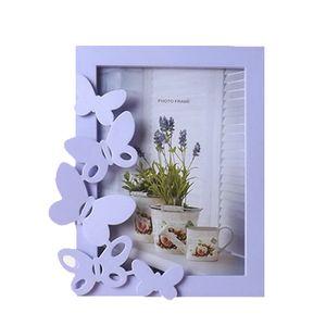 7-Zoll-koreanische Art-Tabelle Home Fotobilderrahmen Mode Molded Kunststoff Bilderrahmen hängende Wand Geschenk Flur Wohnkultur