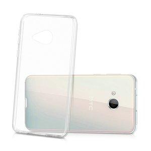 Pour HTC U Jouer clair souple en silicone TPU couverture arrière pour HTC Alpine Ultra cas de protection processus Crystal Thin Skins Coque