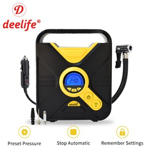 heap Inflatable Pump Deelife Digital Car Tire Inflatable Pump Auto Portable Air Compressor for Cars Wheel Tires Electric 12V Mini Tyre In...