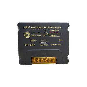 24 Stunden Ausgang 12V24V 10A MPPT Solarladesteuerung automatisch identifizieren Batteriespannung USB5V1A