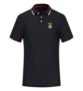 Бенфики 2020 весной и летом новый хлопок футбол рубашка поло мужская с коротким рукавом отворот поло может быть DIY обычай мужской рубашки тройников