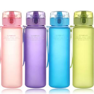 أحدث حار بيع زجاجة 400 ملليلتر 560 ملليلتر جولة في الرياضة مدرسة تسرب برهان ختم زجاجة المياه البلاستيكية تريتان drinkware bpa الحرة