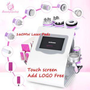 Summer Sale Test 9in1 Вакуумная кавитация Ультразвуковая 3D RF радиочастотная тела для похудения Уход за кожей Массаж красоты машина
