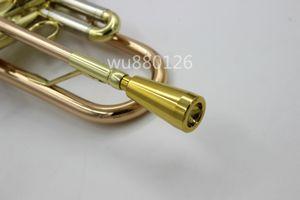 새 도착 1 PCS Bb 트럼펫 마우스 피스 금속 재질 은색 도금 된 골드 래커 표면 트럼펫 악기 액세서리 노즐 No 7C 5C 3C