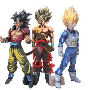 Dragon Ball Z Super Saiyan Goku master Stelle Pezzo Kakarotto Son Goku manga del fumetto di colore ver. Azione PVC Figure giocattolo del modello MX191105