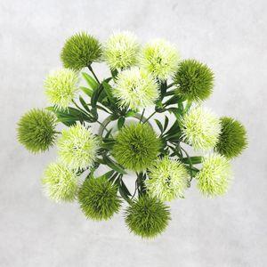 محاكاة النبات للزهور الاصطناعية واحدة الجذعية البلاستيك اكاليل الزهور زينة الزفاف حديقة المنزل الجدول المركزية HH9-2122