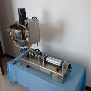 Quantitative Paste liquid filling machine for filling tomato sauce peanut butter cream chili sauce olive oil pneumatic filling machine