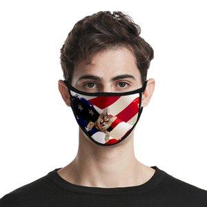 День Независимости США маска для Леди Cubrebocas Color Rosa маски моющийся полиэстер Usa Independence Authenti newclipper rWfge