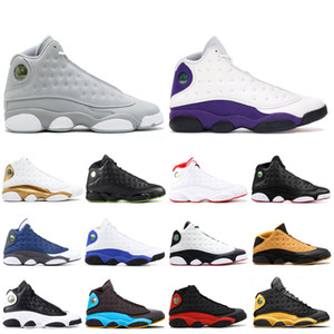 13s Men basketball shoes BLACK CAT hyper royal Chris Paul's Days-CP3 COURT PURPLE he got game playoff 13 mens sports sneakers 7-13