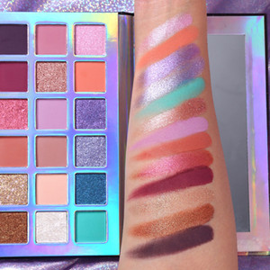 Makeup UCANBE Eyeshadow Palette Beauty new Nude 18 Color Eye shadow Mercury Retrograde Palette Ultra Shimmer Matte Brand Cosmetics