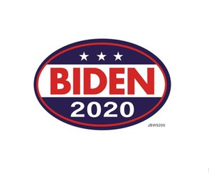 2020 American President Election Supplies Biden Car Magnet Sticker Removable Trump Car Bumper Stickers 777