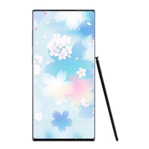 Goophone N10+ N10 Plus 1GB 8GB ROM Full Screen Smartphone Quad Core 6.8inch 3G WCDMA show Fake 4G LTE Phone Sealed Box