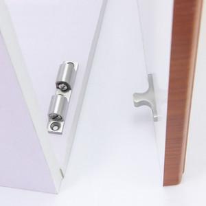 gabbia in acciaio inox Cattura mobili in metallo Hardware parte porta cattura chiudiporta cucina fai da te famiglia palla di arresto