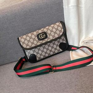 Borse Purses petto borsa W9 femminile 2019 nuova moda selvaggia Messenger bag borse vita marea versione coreana del tracolla larga vibrante