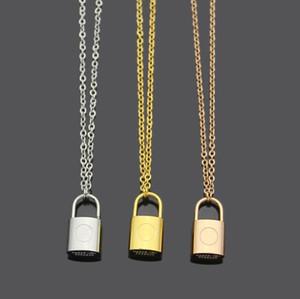 blocco pendente Moda lettera iniziale bracciale orecchini collana per uomo signora e le donne amanti del partito di nozze regalo gioielli in acciaio inox set
