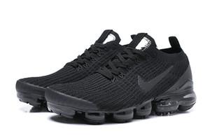 Vapormax3.0 2019 Yastık Ayakkabı Hava Buhar CNY Üçlü Siyah Beyaz Açık Yürüyüş Koşu Sneakers Eğitmenler