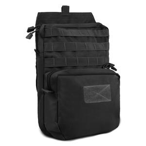 1000D Tactical Molle Vest água de hidratação Pouch 3L Hidratação Backpack Água Militar Bag Pack para Outdoor Caminhadas Caça