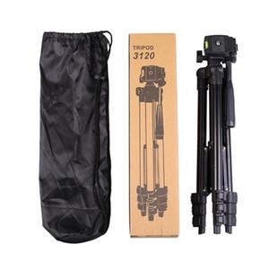 paketi ile Canlı katlama teleskopik masaüstü PTZ Fotoğrafçılık braket 3120 üçayak Zamanlayıcı alüminyum braket Taşınabilir kamera