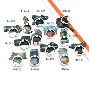 휴대 전화 태블릿에 대한 게임 무기 손가락 링 그립 홀더 범용 장비 기어 브라켓 360도 회전 킥은 조정 스텐트