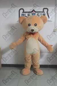 новый ребенок плюшевого костюмы талисмана качества коричневый плюшевый мишка костюмы ПОЛЮС ЗВЕЗДА MASCOT COSTUME