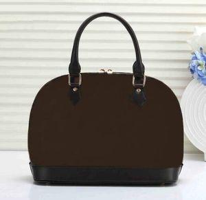 Dropshipping ALMA BB en cuir sac brevet femmes coquille fleur sacs à bandoulière embossé sacs à main sac de crossbody de verrouillage.
