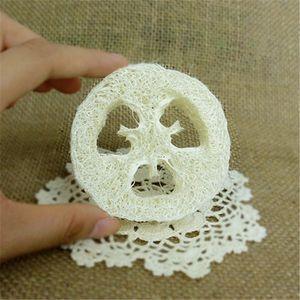 Natural Loofah Luffa Loofa Slices hecho a mano DIY personalizar Loofah herramientas de jabón cleanner esponja scrubber facial jabón titular