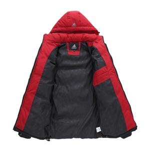 2019 новый бренд Мужская зимняя куртка, мода спорт на открытом воздухе Зимний пуховик мужчины, верхняя одежда мужская куртка бренд с защитой от ветра куртка с капюшоном