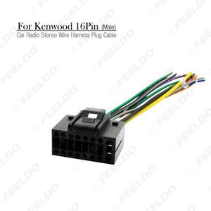 Car Radio Stereo Wire Harness Plug Cable 16 pin Male Connector For CHEVROLET AVEO LOVA(SEDAN) CHERY LANDWIND #3458