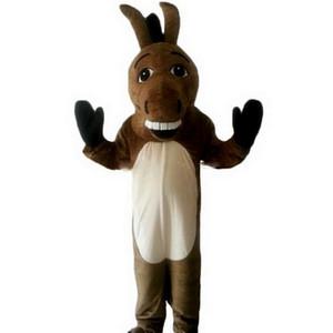 Dessin animé mascotte âne, photos physiques d'usine, qualité garantie, accueil des acheteurs pour les photos d'évaluation et de chargement