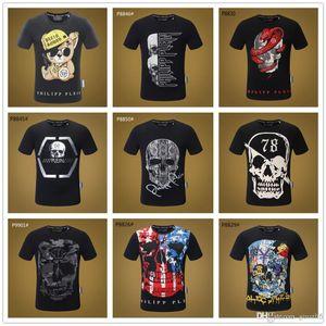 2019 Mix 22 modèles Homme Marque TShirts Pirate Skull Personnalisé T-shirt Personnalisé T-shirt Pour Hommes Drôle Raglan En Coton T-shirts Unise