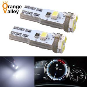 100 pcs Haute qualité T5 LED W1. 2W 5 1206 SMD Voiture Auto DC 12 V 3020 ampoules avec Wedge Base pour tableaux de bord (jauge ampoules)