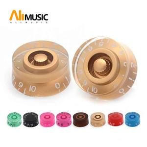 12шт Muilty цвет пластиковые ручки управления скоростью для электрогитары тон громкости ручки кнопки