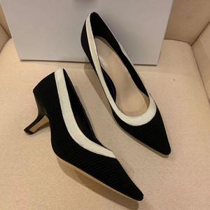 Горячая распродажа-плюс размер новый модельер формальные высокие каблуки женщины женщины дизайнерские сандалии дизайнер лук пентаграмма знак