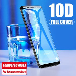 10D Full Curved Edge Tempered Glass Film For Samsung Galaxy Note 8 9 10 Screen Protector For Samsung S9 S8 S10 Plus S10E Film