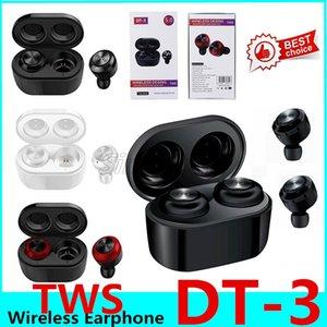 DT-3 Новый TWS Bluetooth 5.0 Наушники Беспроводные наушники Водонепроницаемые гарнитуры Спорт Игровые наушники для смарт-телефона 10шт
