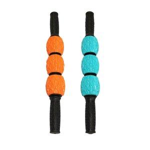 Fascia di uscita Cellulite Blasting Remover muscolare rullo di massaggio bastone con Spiky Balls Deep Tissue stretta fascia muscolare per massaggi