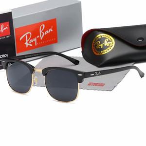 Hot di alta qualità occhiali da sole AviatorRayBan Pilot Vintage Marca Banda protezione UV400 delle donne degli uomini di Ben Wayfarer Occhiali con la scatola 016