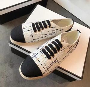 Nouvelles chaussures de sport pour femmes baskets de mode féminine chaussures Top qualité femme paille tresse chaussures bas