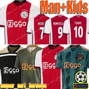 AJAX Futebol HUNTRLAAR PROMES DE JONG Jersey TADIC Babel shirt de Ligt Cego Veltman ZIYECH Football Uniform Voetbal Jersey